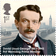 David Lloyd George Stamp