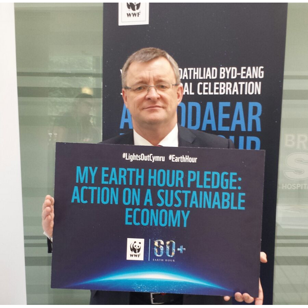 William Powell's Earth Hour pledge