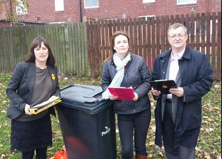 Powys bin collection