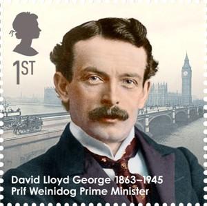 David Lloyd George Stamp