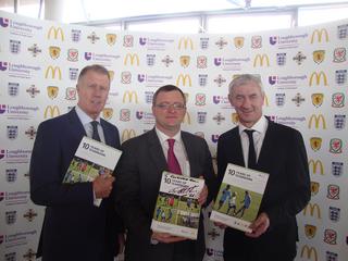 Sir Geoff Hurst, William Powell AM, Ian Rush